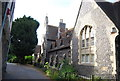 TR1457 : Almshouses by St Mildred's by N Chadwick