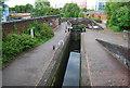 SP0788 : Aston Lock 1, Aston Junction by N Chadwick