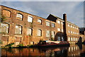 SP0787 : Derelict factory by the Birmingham and Fazeley Canal by N Chadwick