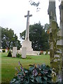 SJ9815 : Cross, Cannock Chase War Cemetery by Colin Smith