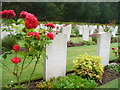 SJ9815 : Commonwealth Cemetery, Cannock Chase by Colin Smith