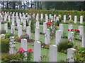 SJ9815 : Cannock Chase, War Graves by Colin Smith
