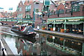 SP0686 : Narrowboat, Birmingham and Worcester Canal by N Chadwick