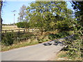 TM3375 : Linstead Road & the footpath to Mary's Lane by Adrian Cable