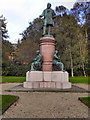 SD9304 : John Platt Statue, Alexandra Park by David Dixon