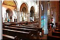 TQ2778 : St Mary, Cadogan Street, London SW3 - Interior by John Salmon