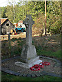 SK6330 : War memorial by Alan Murray-Rust
