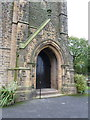 SD4908 : St Michael &amp; All Angels Church, Dalton, Doorway by Alexander P Kapp