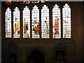 SP5106 : The West Window of the New College ante-chapel by David Purchase