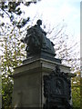 TQ4489 : Monument to Thomas Barnardo at the former Barnardo�s home, Barkingside by Christopher Hilton
