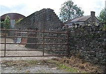 N7799 : Derelict farm building alongside the R162 by Eric Jones