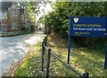 TQ1528 : East Lodge and gate to Christ's Hospital School by Dave Spicer