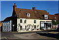 SU5832 : Shops in New Alresford, Hampshire by Peter Trimming