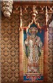 TQ2979 : St Stephen, Rochester Row - South chapel mosaic by John Salmon