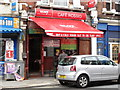 TQ2282 : Caf&eacute; Rossio, Harrow Road, NW10 by Mike Quinn