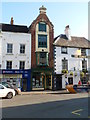 SO5012 : Tall narrow building, Agincourt Square, Monmouth by Jaggery