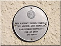 TR0161 : Plaque on The Anchor Pub,, Faversham by David Anstiss