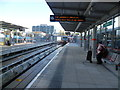 TQ3884 : Docklands Light Railway platforms at Stratford by Ian Yarham