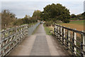 SP7367 : Brampton Valley Way by Richard Croft