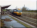 SW7445 : High Speed Train at Chacewater, 1981 by Rob Newman
