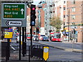 TQ2978 : Sign to Pimlico at Junction of Bessborough Gardens and Drummond Gate by PAUL FARMER