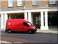 TQ2978 : Royal Mail Van in Balniel Gate, Pimlico by PAUL FARMER