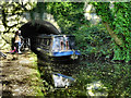 SJ9392 : Peak Forest Canal, Woodley Tunnel by David Dixon