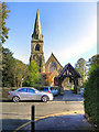 SJ9490 : Parish Church of St Chad, Romiley by David Dixon