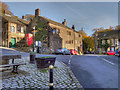 SD9906 : The Swan, Dobcross Square by David Dixon