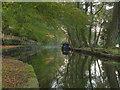 SD9905 : Huddersfiled Narrow Canal, Uppermill by David Dixon