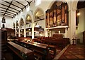 TQ2887 : St Michael, South Grove, Highgate - Organ by John Salmon