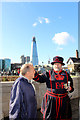 TQ3380 : Yeoman Warder at the Tower of London by Christine Matthews