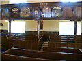 NT2385 : 'Sailors' Loft' and pews, Burntisland Kirk by kim traynor