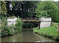 SJ6275 : Hole House Lane Bridge west of Barnton, Cheshire by Roger  Kidd