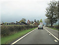 SO0592 : A489 approaching Red House by John Firth