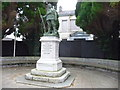 SN4120 : The Carmarthenshire War Memorial, Carmarthen by Jeremy Bolwell