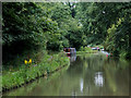 SJ5778 : Canal south-east of Preston Brook Tunnel, Cheshire by Roger  Kidd