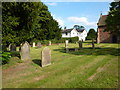 SJ7548 : St Margaret's Church, Betley, Graveyard by Alexander P Kapp