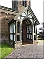 SJ7548 : St Margaret's Church, Betley, Porch by Alexander P Kapp