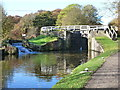 SE1338 : Hirst Lock, Leeds and Liverpool Canal, Saltaire by Ruth Sharville