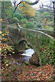 SK2673 : Bridge over Bar Brook by Mick Garratt