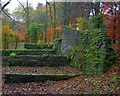 SK2673 : Ruins near Cupola Cottage by Mick Garratt