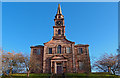 Dist:0.3km<br/>Fine church stands in a prominent position in the south part of Kilmarnock. http://www.riccartonparishchurch.co.uk