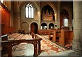 TQ3191 : St Cuthbert, Wolves Lane - Chancel by John Salmon