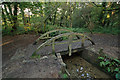 SW6032 : Footbridge, Godolphin Woods by Ian Capper