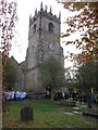 SJ9076 : Remembrance Sunday, St Peter's Prestbury by Peter Turner