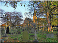 SJ9183 : Poynton; St George's Church and Churchyard by David Dixon