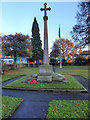 SJ9183 : Poynton War Memorial by David Dixon