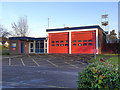 SJ9283 : Poynton Fire Station by David Dixon