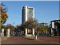 TQ2880 : Queen Elizabeth Gate Hyde Park by PAUL FARMER